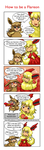 How to Be a Flareon by KawaiiOverdose