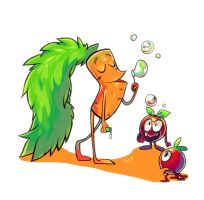Carrot father by Gobi-the-dog