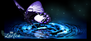 Butterfly Gift Tag V2 by BonesMa