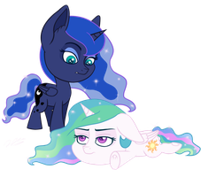Go Away Luna by tsand106
