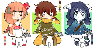 Cute Adopts3 [AUCTION] (Open) by kuros-adopts