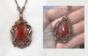 Carnelian Makeover by blackcurrantjewelry