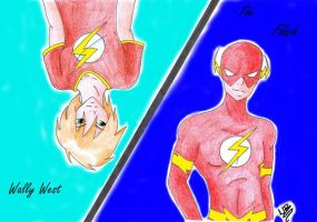 Wally West is...The Flash by xRae-Asakurax