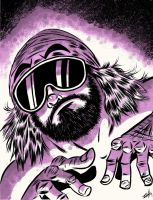 Macho Man Randy Savage by spicypeanut