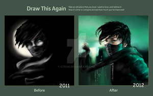 Ninja - draw this again by CtE4m