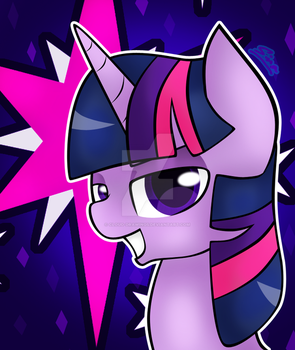 Twilight Sparkle by Cloud-Drawings