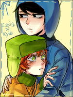 South Park : Craig x Kyle by sujk0823