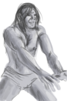 Figure practice male - Raith by XantheStar
