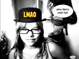 .::Me..and..meh..hat::. by Jaycee-the-DJ-girl