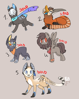 Point Adoptables Batch 3 .:AUCTION:. CLOSED by crowrley