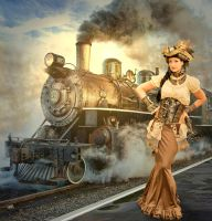 Steampunk World by Roys-Art