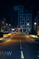 StreetLife at Night by Samuel-Benjamin