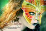 Fire Seraphim Mask (Featuring Girltripped) by Angelic-Artisan