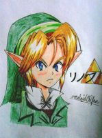 Ocarina Of Time Adult Link by vocaloid02fan