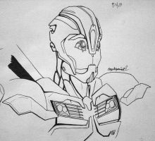 Tf Prime: Bumblebee. My style by eaglespirit1