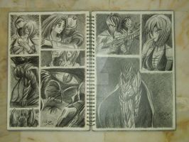 My Sketches by Fahad-Naeem
