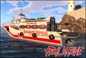 Feral Marine Cover - Ambulance 001 by SpencerAustin