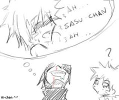 sasuke and uke... by neakowafer
