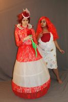 The Red Queen and Card Solder 13 by MajesticStock