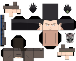 Shikamaru Exam No Jacket by hollowkingking