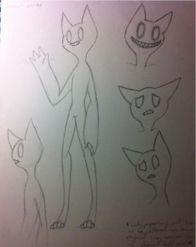 Character Sketches- Po by DinosaursAwesome
