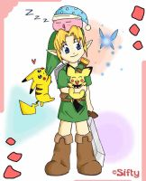 Young Link and Friends by Sifty