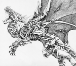 Super Detail, Robo Dragon. by Frostwhisker1