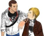 Desmond Miles and Lucy Stillmen by Raveking10141