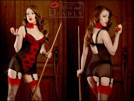 Kiss Me Deadly Alouette Dress by ladymorgana
