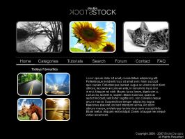 Double Stock Website Design by BirdieNUFC