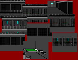 Walfas: Prison Backgrounds and Parts by ShinKong