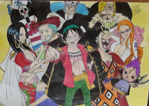 Strawhats as 7 warlords by Tory-Rug1728