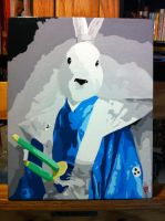 Paint by Numbers #2 (Usagi Yojimbo) by thesometimers