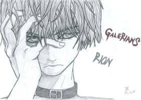 Rion from Galerians by FeuerLuffy