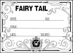 Blank Fairy Tail Member Card by Corky-Lunn