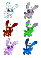 Bunny Adopts: CLOSED by PenguinBombSquad
