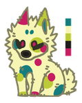 PartyPup by ZoeTaylorArts
