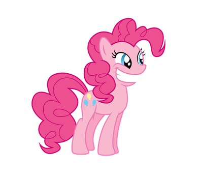 Pinkie Pie is excited by Dribmeg