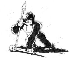 Rise of the Planet of the Apes by CROMOU