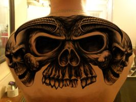 Carls Skull Design by Richie303