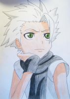 Sexy Toshiro -DRAWING AGAIN- by oOCookieChikaOo