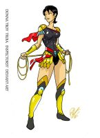 Donna Troy Troia by Inspector97