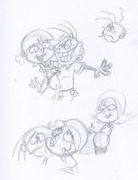 Nazz and Eddy Doodles by squeaken1