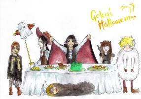 Gokaiger Halloween Contest by Otai