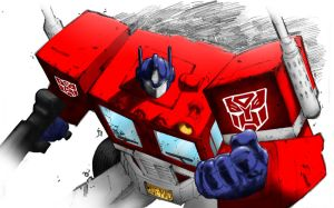 Optimus Prime by elindir