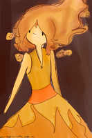 Flame Princess by rougefannest