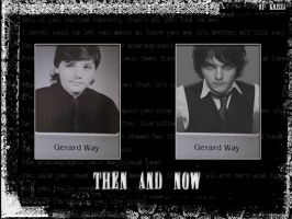 Gee: then and now wallpaper by Krisza