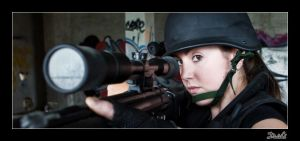 The Black Sniper IV by Topo1958
