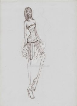Fashion Sketch 05 by my-beret-is-red