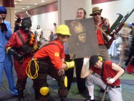 Megacon '09-TF2 Group2 by heavensong